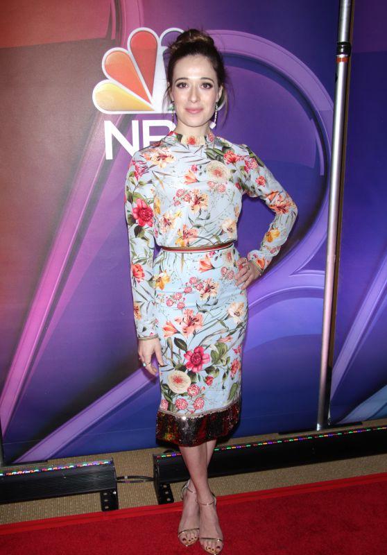 Marina Squerciati - NBC Mid-Season Press Day in New York 03/08/2018