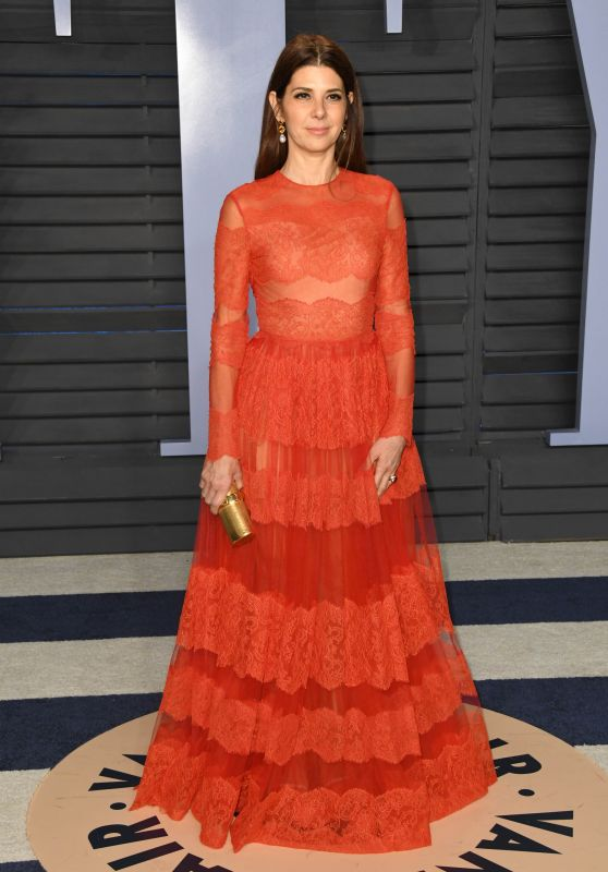 Marisa Tomei – 2018 Vanity Fair Oscar Party in Beverly Hills