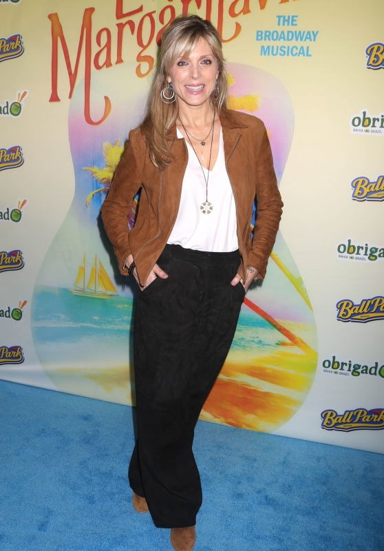 """Marla Maples – """"Escape to Margaritaville"""" Opening Night in NY"""