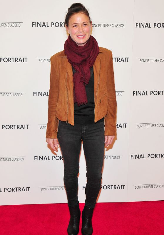 """Maura Tierney – """"Final Portrait"""" Special Screening in NY"""