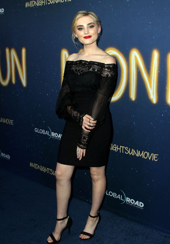 """Meg Donnelly  – """"Midnight Sun"""" Premiere in Los Angeles"""
