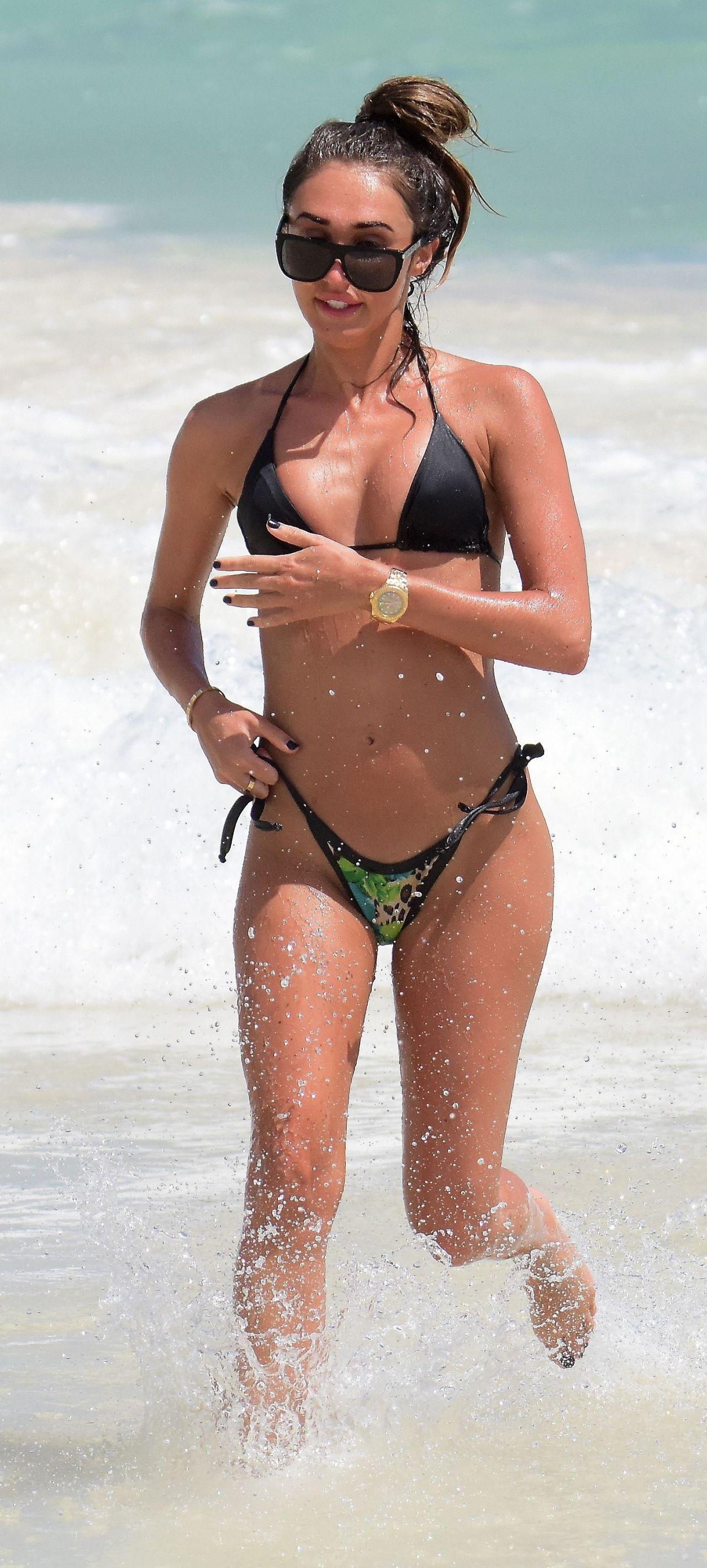 f9f78bad102e1 Megan McKenna in Bikini in Barbados 03 23 2018