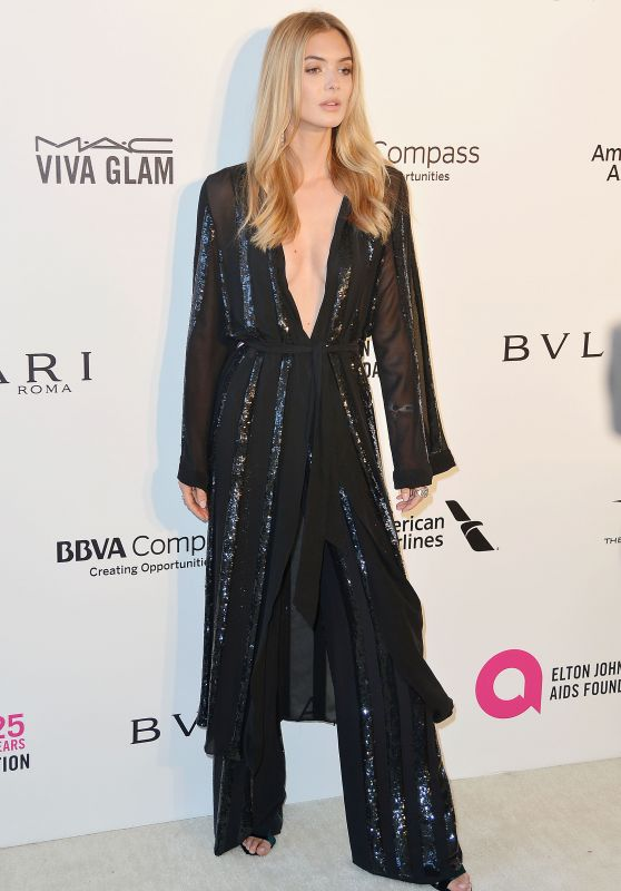 Megan Williams – Elton John AIDS Foundation's Oscar 2018 Viewing Party in West Hollywood