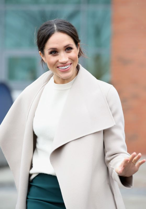 Meghan Markle - Arriving at the Eikon Centre in Lisburn