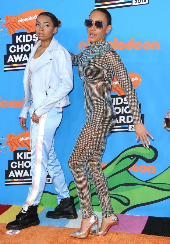 Melanie Brown – 2018 Nickelodeon Kids' Choice Awards