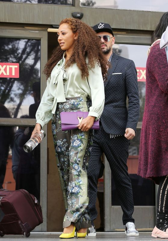 Melanie Brown at the Los Angeles Court House 03/14/2018
