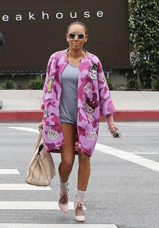 Melanie Brown Street Style - West Hollywood 03/20/2018