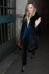 Melissa George - Leaving Hermes  Show FW18 in Paris