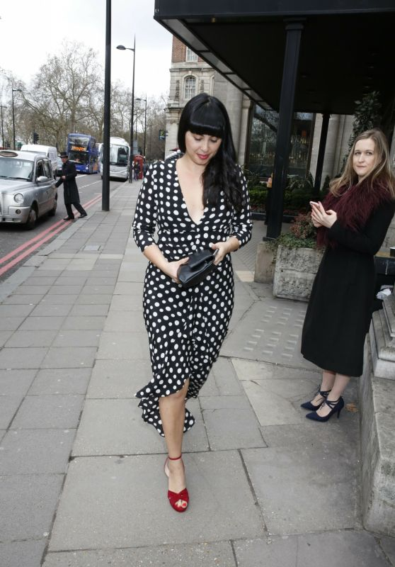 Melissa Hemsley - Arrives at the TRIC Awards 2018 London
