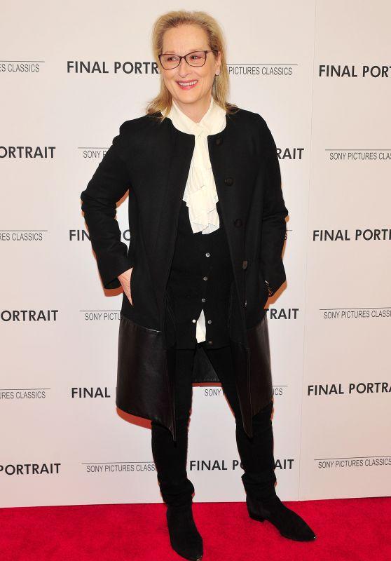 "Meryl Streep - ""Final Portrait"" Special Screening in NY"