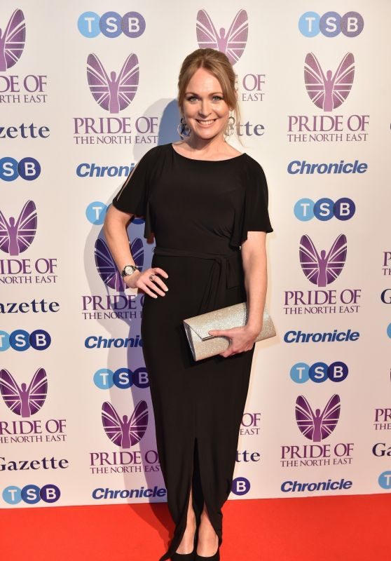 Michelle Hardwick – 2018 Pride Of The North East Awards in Newcastle