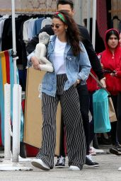 Michelle Keegan - Shops at The Farmers Market in Los Angeles 03/11/2018