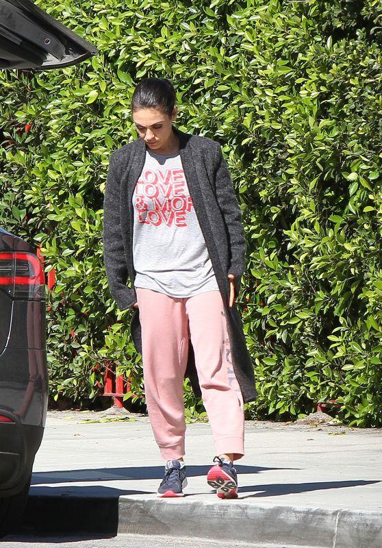 Mila Kunis - Running Errands in LA 03/19/2018