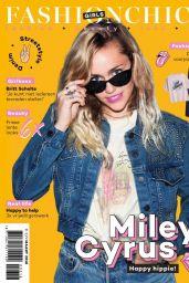 Miley Cyrus - Fashion Chick Magazine, March 2018