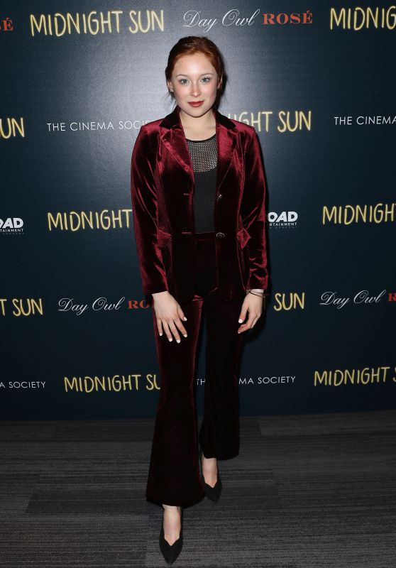 "Mina Sundwall – ""Midnight Sun"" Screening in New York"