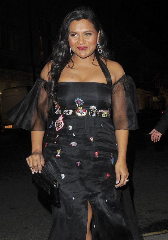 Mindy Kaling - Arriving at the Corinthia Hotel in London 03/13/2018