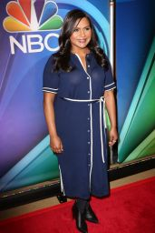 Mindy Kaling - NBC Mid-Season Press Day in New York 03/08/2018