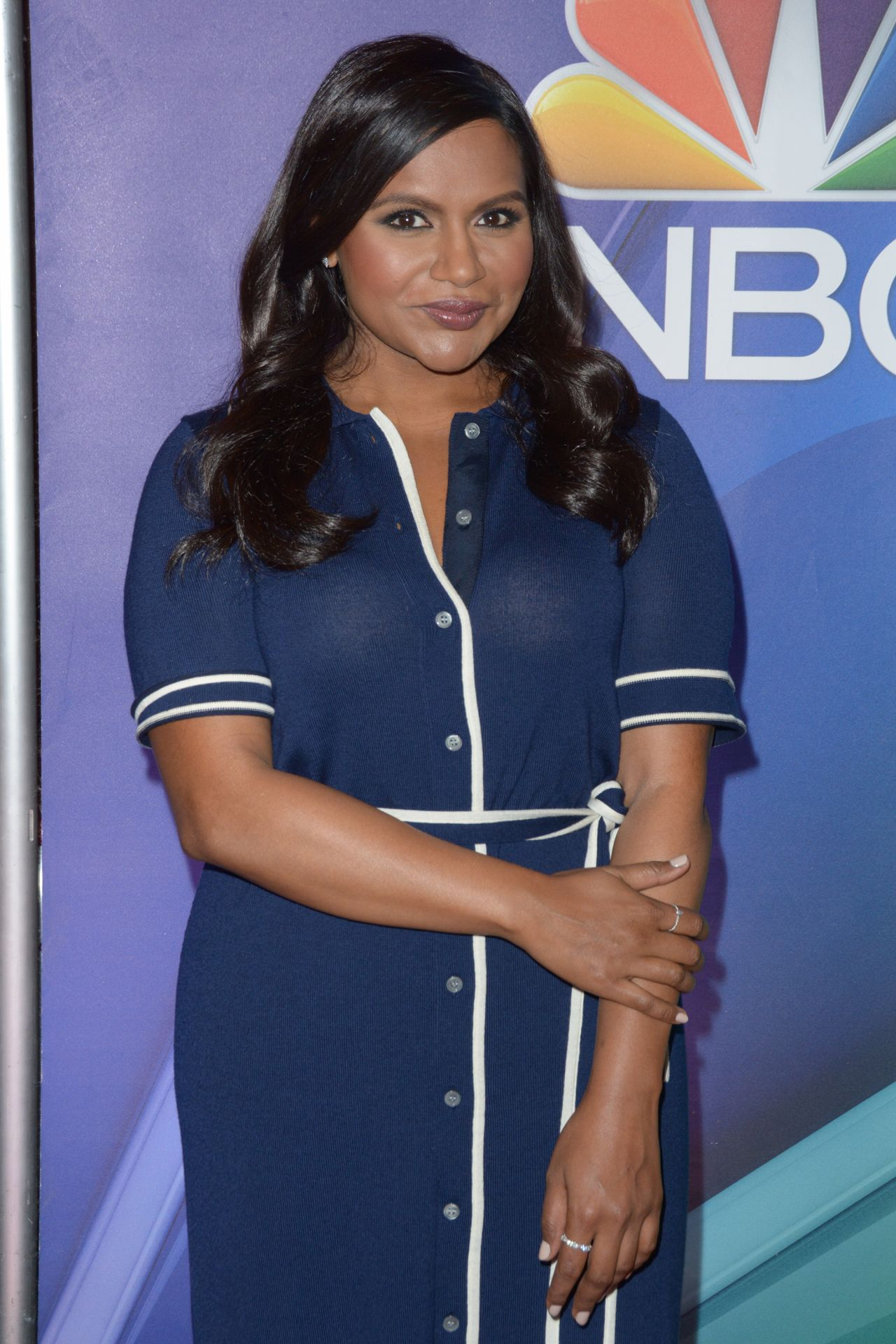 Mindy Kaling Nbc Mid Season Press Day In New York 03 08 2018