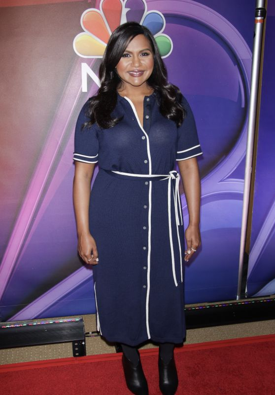 Mindy Kaling - NBC Mid-Season Press Day in New York 03/08/2018