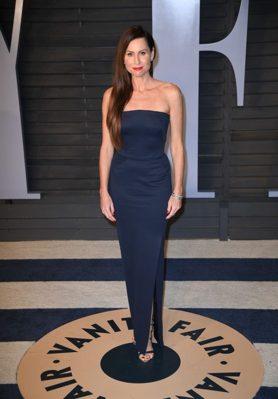Minnie Driver – 2018 Vanity Fair Oscar Party in Beverly Hills