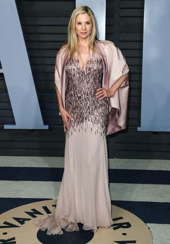 Mira Sorvino – 2018 Vanity Fair Oscar Party in Beverly Hills