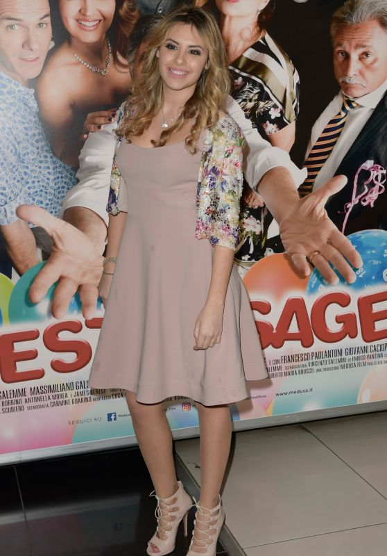"Mirea Flavia Stellato - ""Una festa Esagerata"" Movie Screening in Rome"