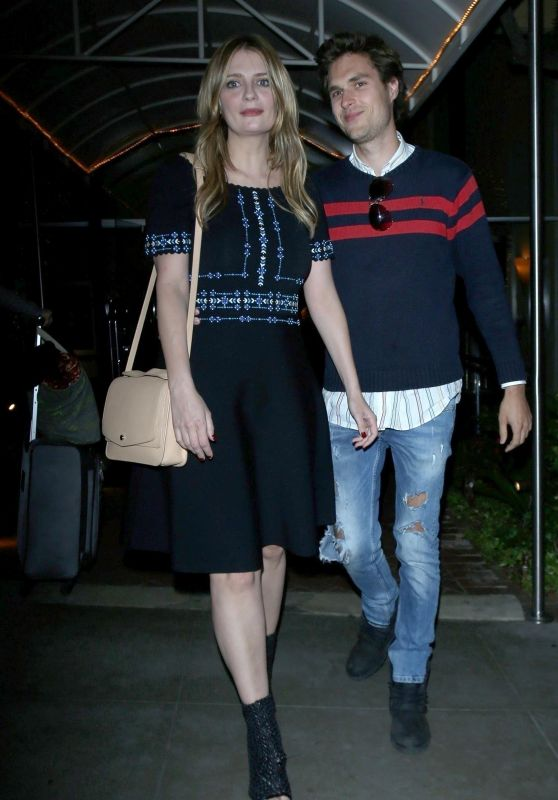 Mischa Barton and James Abercrombie at the Sunset Marquis in Los Angeles 03/29/2018