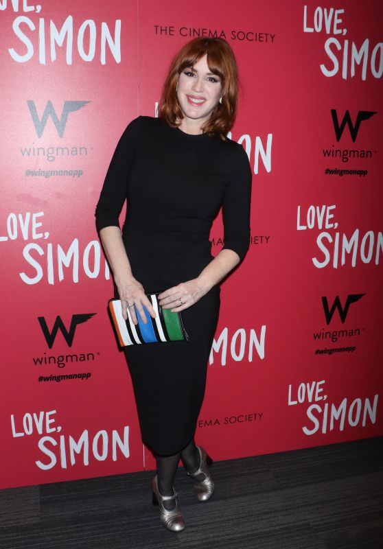 "Molly Ringwald  - ""Love, Simon"" Premiere in New York"