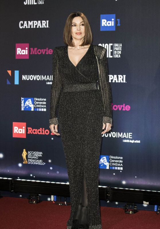 Monica Bellucci – 2018 David di Donatello Awards in Rome