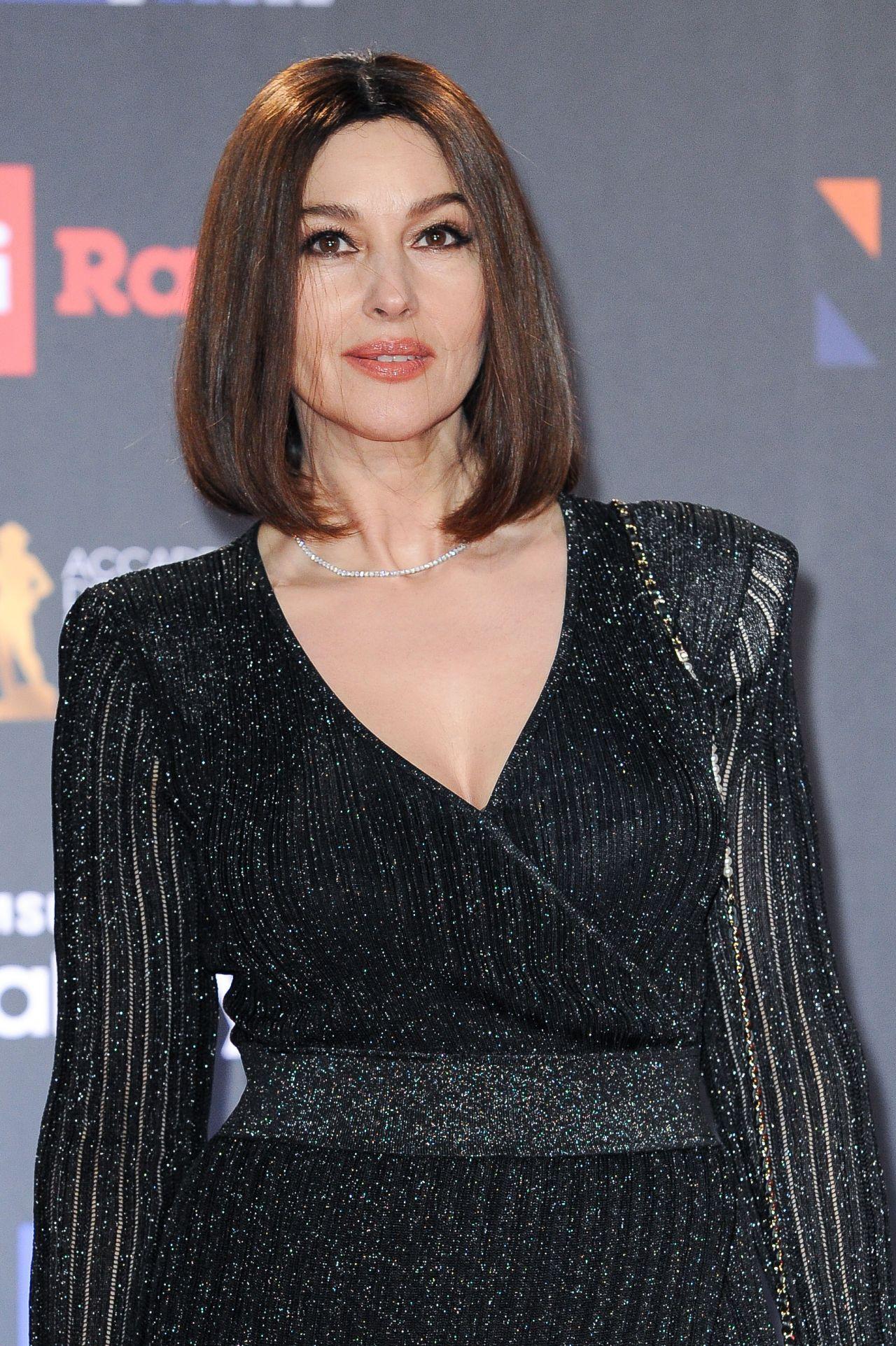Monica Bellucci – 2018 David di Donatello Awards in Rome Monica Bellucci