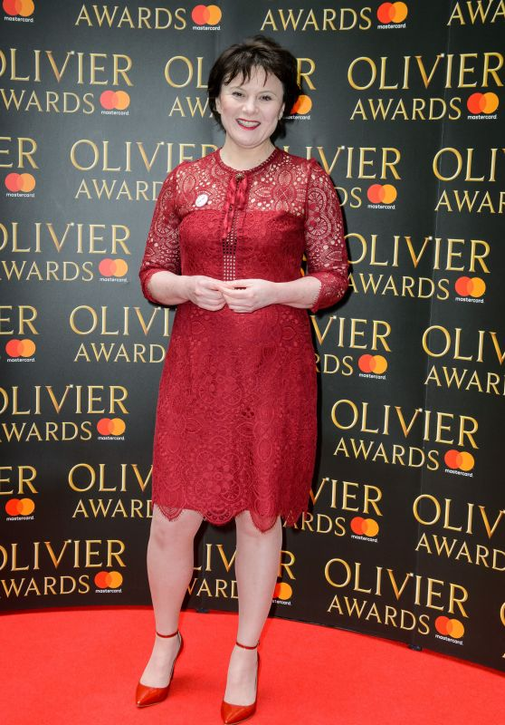 Monica Dolan – Olivier Awards Nominees Luncheon in London 03/09/2018