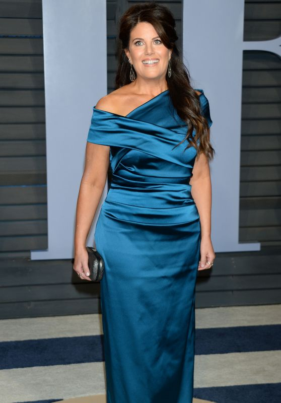 Monica Lewinsky – 2018 Vanity Fair Oscar Party in Beverly Hills