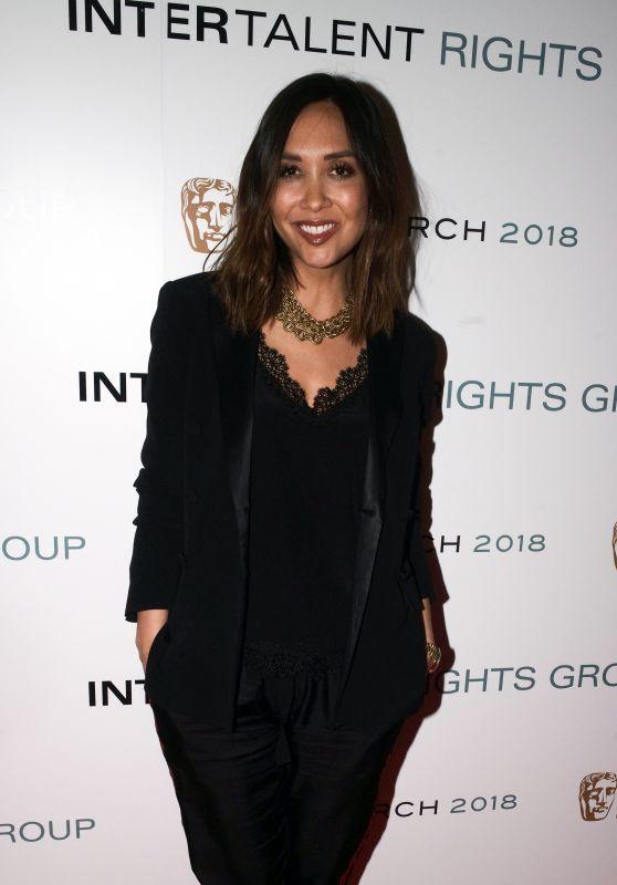 Myleene Klass – InterTalent's Launch Party at BAFTA in London 03/06/2018