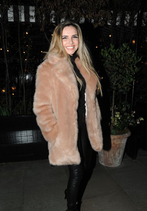 Nadine Coyle at Chiltern FireHouse in London 03/24/2018