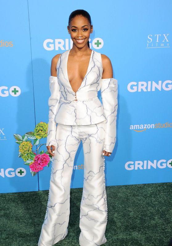 "Nafessa Williams – ""Gringo"" Premiere in Los Angeles"