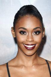 "Nafessa Williams – ""Tomb Raider"" Premiere in Hollywood"