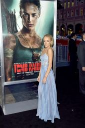 "Nastia Liukin – ""Tomb Raider"" Premiere in Hollywood"