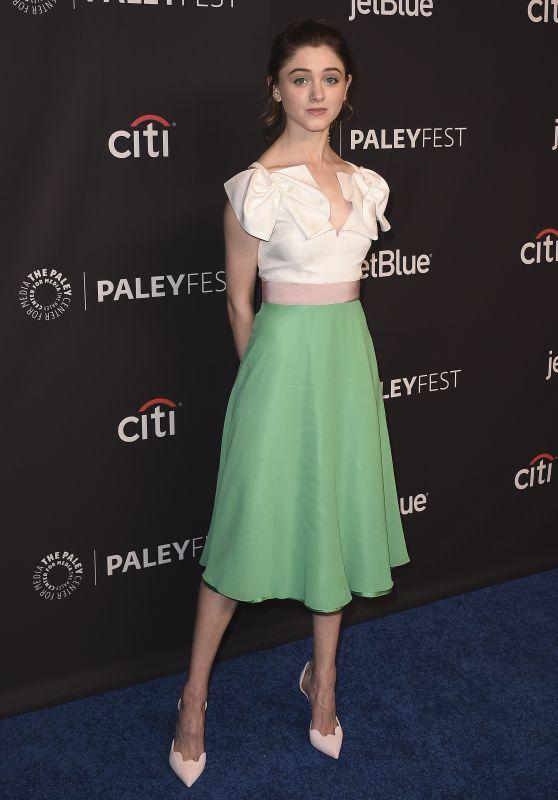 "Natalia Dyer – PaleyFest 2018 ""Stranger Things"" in Hollywood"