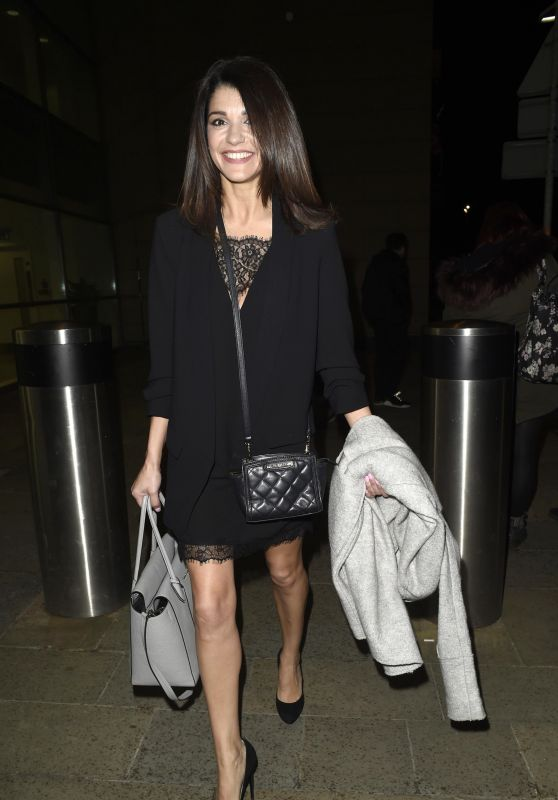 Natalie Anderson – Media City in Manchester 03/23/2018