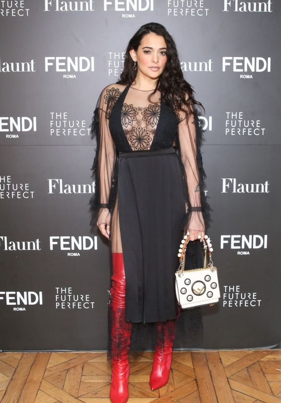 Natalie Martinez - Fendi X Flaunt Celebrate the New Fantasy Issue in LA