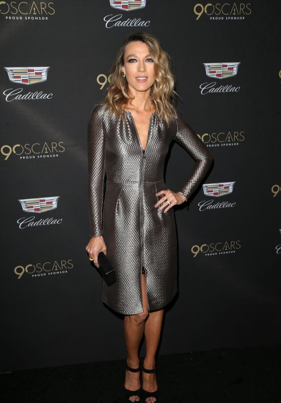 Natalie Zea – Cadillac Oscar Celebration in LA
