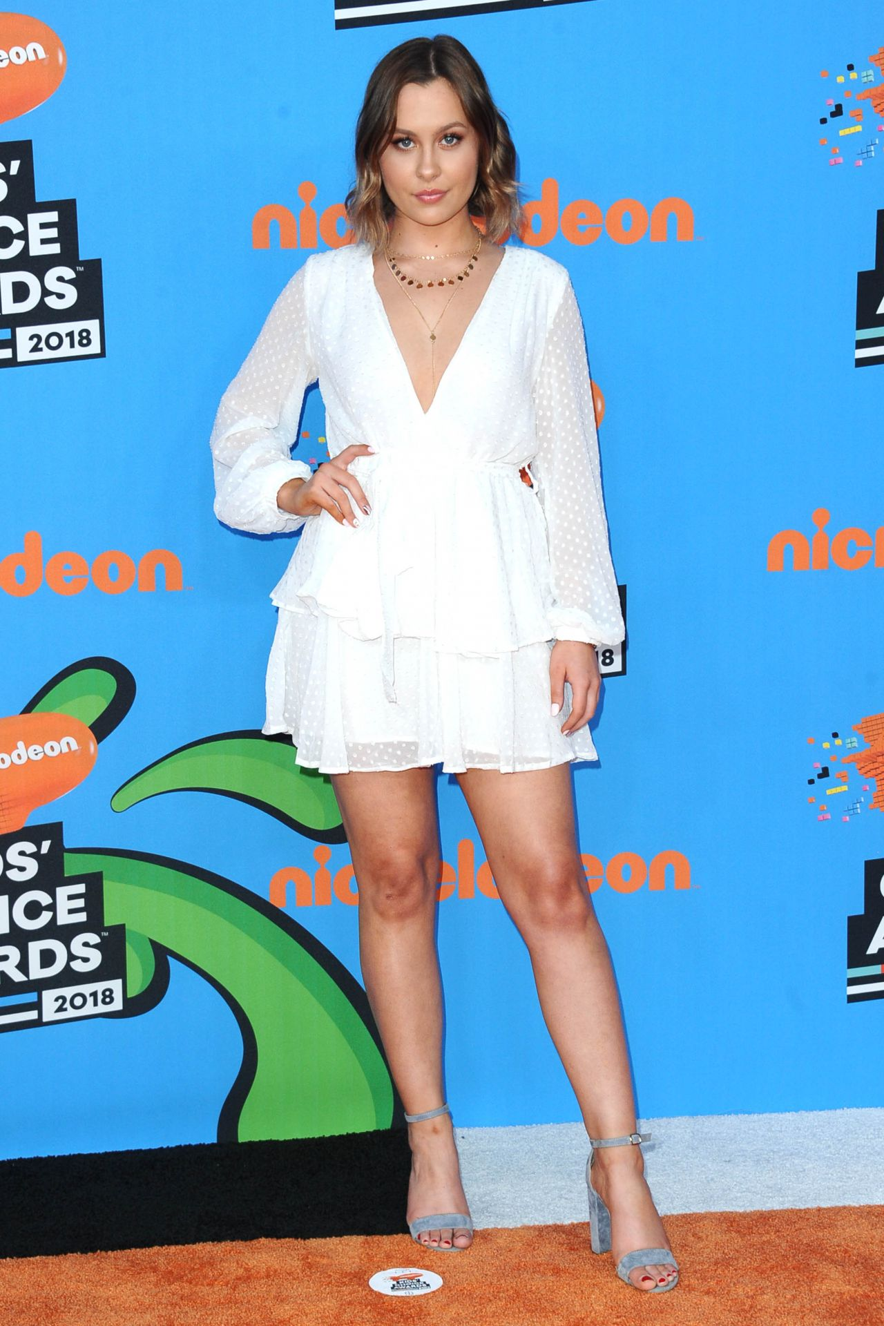 Natasha Bure – 2018 Nickelodeon Kids' Choice Awards