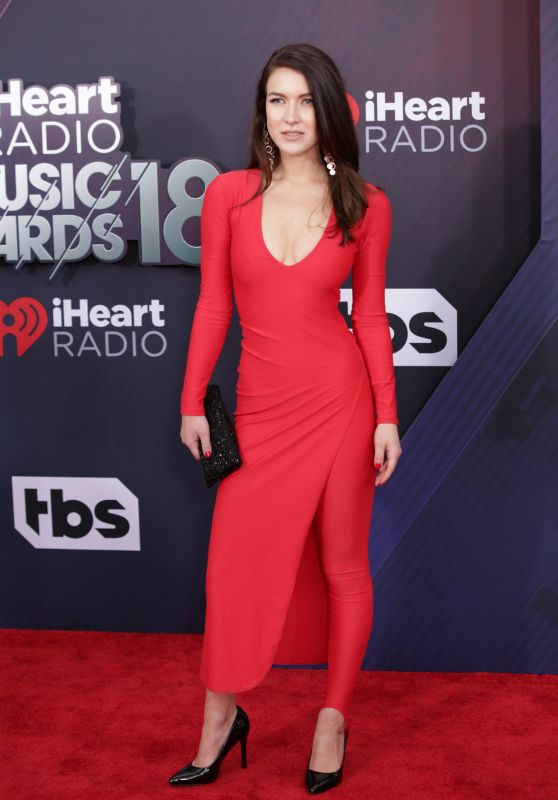 Nathalia Ramos – 2018 iHeartRadio Music Awards in Inglewood