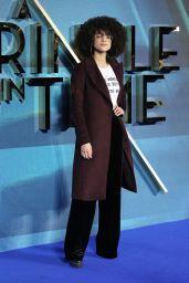 "Nathalie Emmanuel– ""A Wrinkle In Time"" Premiere in London"