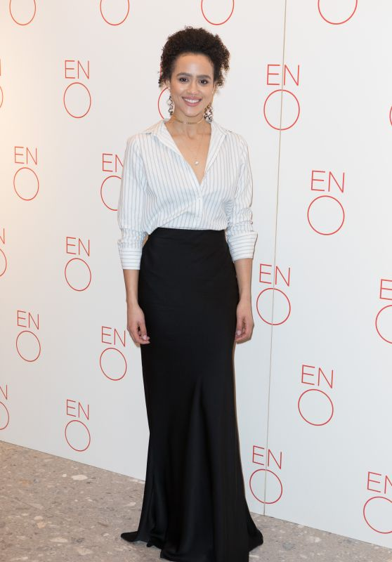 Nathalie Emmanuel – La Traviata – VIP Performance and Press Night in London