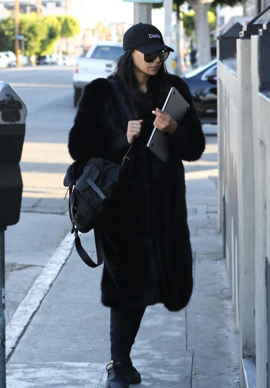 Naya Rivera - Heading to The Belmont in Los Angeles 02/28/2018