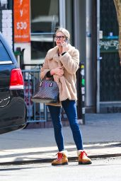 Nicky Hilton - Chatting on Her Cell  Phone in New York