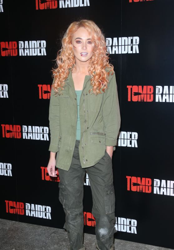 "Nicola Hughes – Tomb Raider Themed ""Escape the Room"" in London"