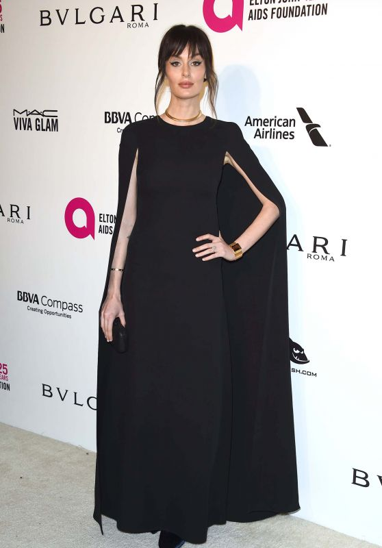 Nicole Trunfio – Elton John AIDS Foundation's Oscar 2018 Viewing Party in West Hollywood