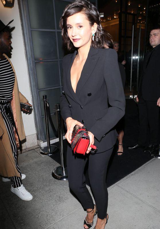 Nina Dobrev - Giorgio Armani Pre Oscars Party in Beverly Hills